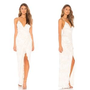 NWT Michael Costello Bridal Wrap Wedding Dress
